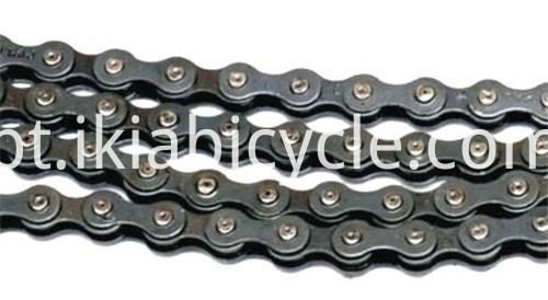 Colored Bicycle Roller Chain Black